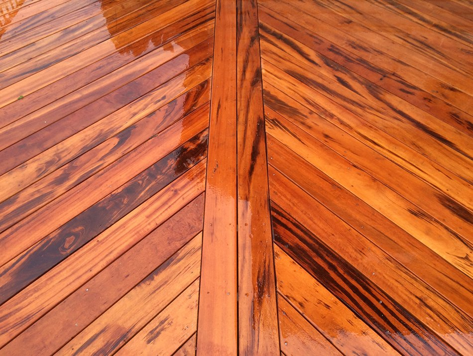custom hardwood decking and design in seattle