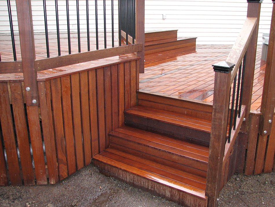hardwood decking staircases in seattle